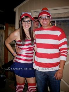 Coolest Where's Waldo Book Character Costumes