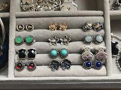 Pandora earrings, Tous earrings