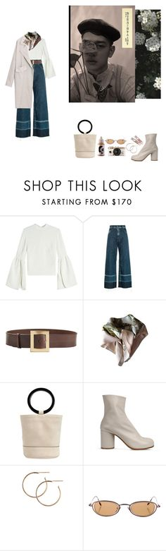 """Untitled #267"" by lilkliu ❤ liked on Polyvore featuring Rejina Pyo, Rachel Comey, Roberto Cavalli, Hermès, Simon Miller, Maison Margiela, Urban Outfitters and Repossi"
