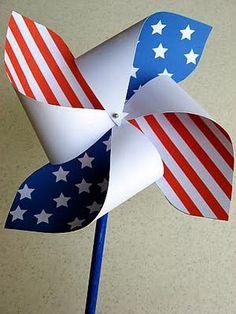 Great Ideas -- Patriotic Party Printables!!