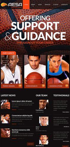 #sport #sports #basketball #website #template #team #game