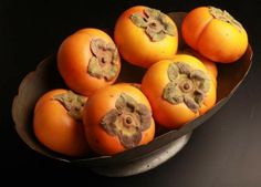 Get cooking: Mild, sweet persimmons are in season now.