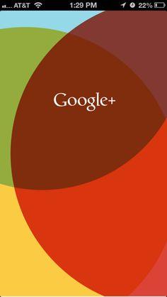 Google + Splash Screen