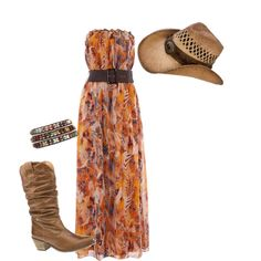Summer On The Farm, created by fashionablyamy on Polyvore