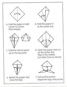 Uncle Sam Origami - Fourth of July Name the polygons as you fold. Johnny Appleseed, Penguin Love, Apple Seeds, Groundhog Day, Winter Theme, Social Science, Teaching Math, Fourth Of July, Penguins