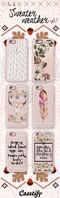 Dress up for the season. Tap the link here to shop these #SweaterWeather ready phone cases // http://www.casetify.com/artworks/rVk1H2YUJo