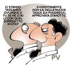 #IoSeguoItalianComics #Satira #tasse #italiariparte #lavoltabuona #politica