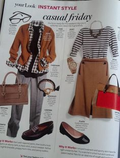 "InStyle Magazine - ""Casual Friday"""