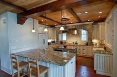 This is it! I found it!  My ideal kitchen!! And for 2 million dollars it can be mine!  sweet!