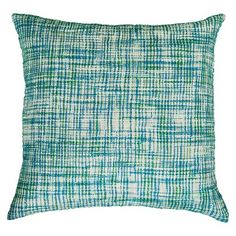Rizzy Home Decorative Pillow - Blue