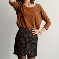 Patron de couture pdf SISTER MINI - du 32 au 48 - Mini jupe zippée   Vanessa Pouzet #couture #jupe #minijupe #skirt #patron
