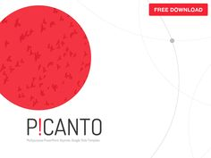 Picanto PPT Template Free Download by hislide.io
