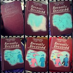Handbook for the Recently Deceased #handbookfortherecentlydeceased More