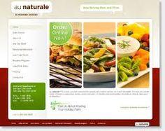 Food Website Designs