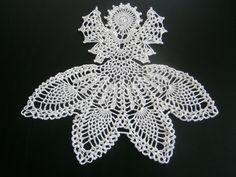 Angel Doily - Handmade Crochet
