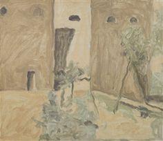 Artwork by Giorgio Morandi, PAESAGGIO (LANDSCAPE), Made of oil on canvas