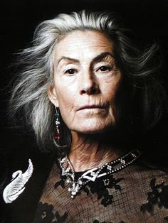 Clarissa Dalrymple, age 70.  By photographer Amy Troost