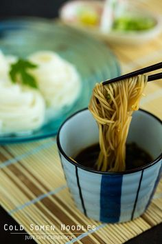 Somen Noodle Recipe そうめん • Just One Cookbook