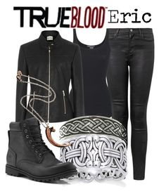 """""""Eric Northman, True Blood"""" by alt-jay ❤ liked on Polyvore featuring J Brand, Vince, Reiss, Carolina Glamour Collection, Timberland, Guide London, women's clothing, women's fashion, women and female"""