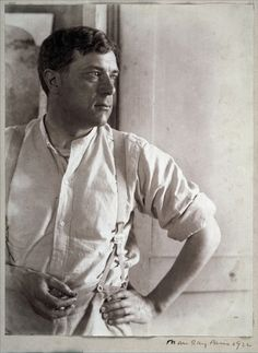 Georges Braque,1922,photograph by Man Ray