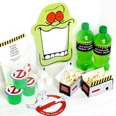 A date night based on the classic movie Ghostbusters. Printable invitation, activity, and more!