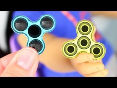 DIY American Girl Doll Fidget Spinner - YouTube