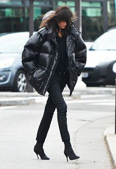 Emmanuelle Alt at Paris Fashion Week Fall 2012