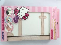 Sanrio Hello Kitty Smartphone Trunk Pouch With Strap For Iphone Body Bag Japan