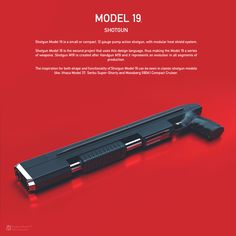 Sci Fi Weapons, Weapon Concept Art, Fantasy Weapons, Weapons Guns, Guns And Ammo, Zombie Weapons, Pump Action Shotgun, Tactical Shotgun, Revolver