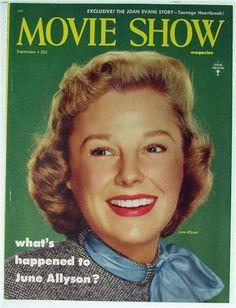 Movie Show Magazine No. 1, 1954, June Allyson, Judy Garland, Jane Powell