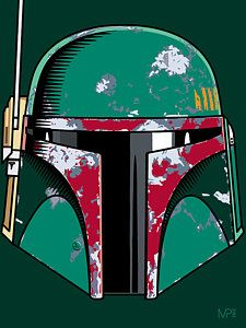 Star Wars Digital Art - Boba Fett by IKONOGRAPHI Art and Design