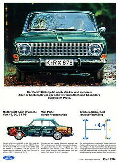 Ford Taunus (1967) 12M P6 - Motorkraft nach Wunsch