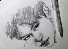 stray kids felix drawing