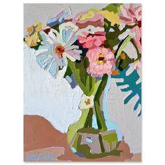 Faded Peach Original Flower Art, Peach, Paintings, Colour, The Originals, Flowers, Artwork, Inspiration, Life