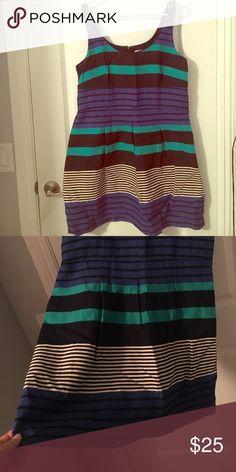 Summer dress Cute flirty summer dress! Navy blue, green, black, grey LOFT Dresses Midi