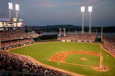 Lovely Great American Ball Park.  Home of the 2015 MLB All Star Game!  Get your tickets below face value just by clicking on the field.