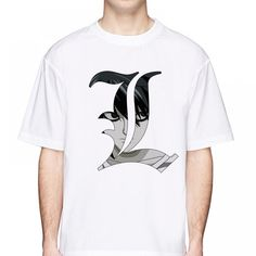 Everything on SALE & Free Worldwide Shipping! death note print t shirt Price: $ 25.00 & FREE Shipping #toys