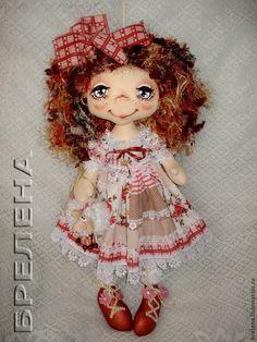 Брелена Куклы Брелены Текстильная кукла