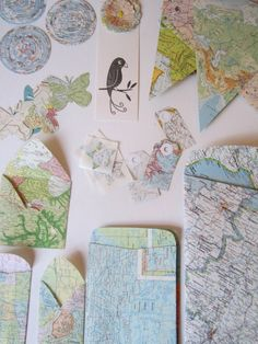 Map Party/Map Lovers Delight Gift Set