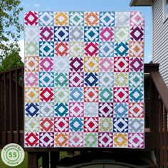 Around The Square Quilt Pattern!