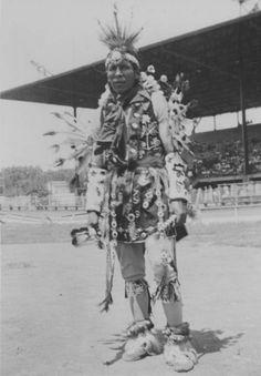 Potawatomi. Photo of George Allen. (Kansas)