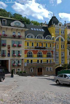 Houses of Kiev, Ukraine