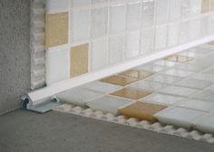 Tile edge trim in aluminum (inside corner) MOSAICTEC CRM PROFILITEC