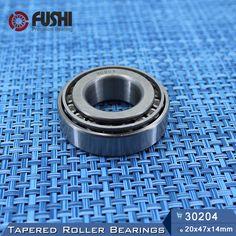 30204 Bearing 20*47*14 mm ( 1 PC ) Tapered Roller Bearings 30204 X 7204E  Bearing