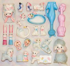 Pink and Blue Kitsch