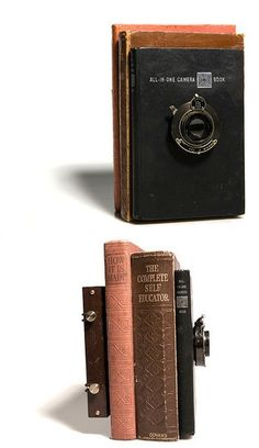 All-in-One Camera Book (5x4) that actually works!      Exhibited in England, Katowice, Poland and Bogota in Columbia in the international Book Arts exhibition