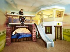 >>Read information on low bunk beds for kids. Check the webpage to find out more The web presence is worth checking out. Low Bunk Beds, Kids Bunk Beds, Airplane Bedroom, Cool Kids Bedrooms, Inspiration Design, Design Ideas, Kids Room Design, Baby Boy Rooms, Room Boys