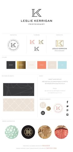 Brand Refresh and Website Launch: Leslie Kerrigan Photography | Original Mark by Braizen | Brand Styling & Website Design by Salted Ink