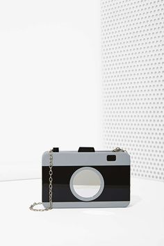 Camera Acrylic Crossbody Bag