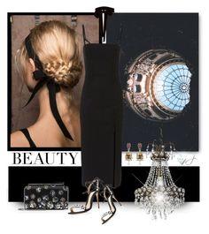 """Bustier Dress"" by jacque-reid ❤ liked on Polyvore featuring Dion Lee, Monique Lhuillier, Oscar de la Renta, oscardelarenta, MoniqueLhuillier and dionlee"